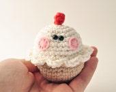 Crochet Cupcake Pattern, Amigurumi Pattern, Amigurumi Cupcake, Dessert Crochet Pattern, DIY Cupcake Pattern