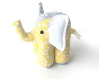 Elephant Toy in yellow