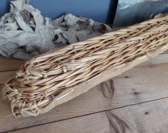 Vintage French bread baguette basket from Boulangerie Bakery