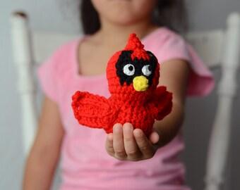 Baby Cardinal Amigurumi