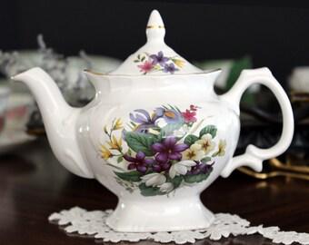 Tea For One, Price Kensington Teapot, Mixed Spring Bouquet, Single Serve Tea Pot 13645
