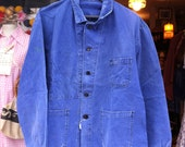 French Indigo Worker Jacket 1940