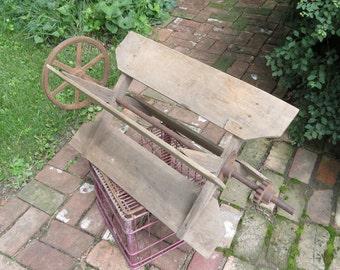 Vintage Farm Machinery Wheel Fan.