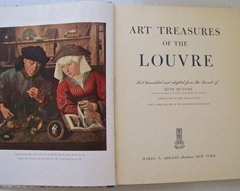 Vintage Art Treasures Of The Louvre Art Museum History Culture 1951 Homeschool