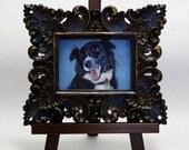 Custom Pet Portrait 5x7 Framed for Rachael