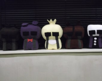 FNAF Lost soul plushies *Golden freddy added*