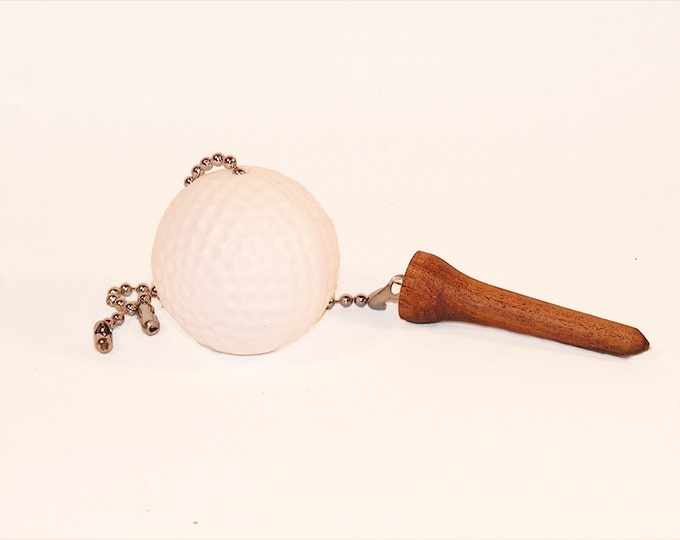 Golf Fan Pull, Golf Ball and Tee Fan Pull Set, Man Cave Decor, Sports Decor, Gift for Men, Gift for Him, Gift for Her, Gift for Women