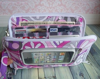 smartphone wristlet •  Keep in Touch MEGA Wallet  •  2b