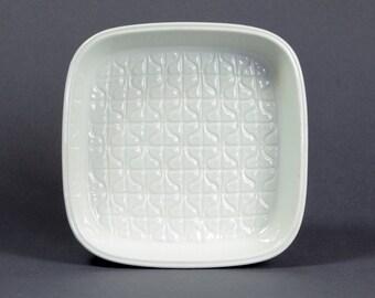 Gunnar Nylund Roerstrand Bowl Ceramic Design Domino Scandinavian  Mid Century Modern Art 60s