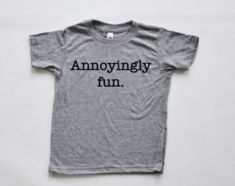 Annoying Fun Kids tee