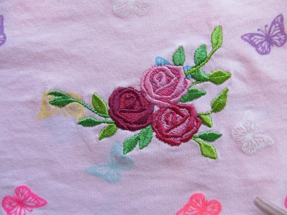 Accent mini flowers machine embroidery designs big set