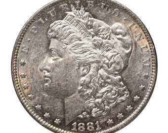 1881 O U.S. Morgan Silver Dollar