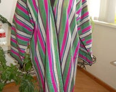 Uzbek  vintage national handmade bekasab chapan robe