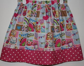 Shopkins Skirt  Size 2 to 8