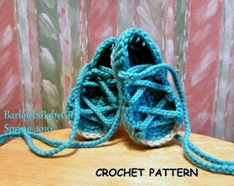 Buggs - NEW Crochet Sandal Pattern/ My Little Gladiator's