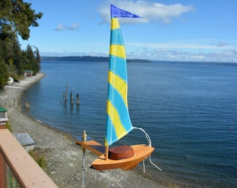 2017- Solo Sailboat Whirligig