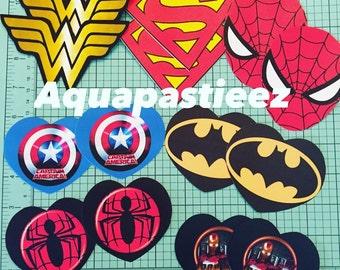 Superhero Pasties, Boobie Stickers, Nipple Covers
