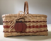 SALE - Save 20% - Handmade Harvest Market Basket