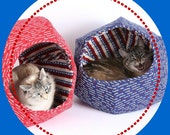 Vote Cat With the Special Edition Cat Ball Cat Bed the Feline Voting Booth Contraption for Iowa Caucus and Presidential Election Day