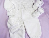 Special listing for Marie - Louise Brzozowski - Baby knitted set, CUSTOM