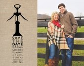 wine save the date, Save the date postcards, Save the date cards, Save the date magnets, wedding photographer, engagement photographer