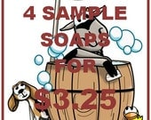 SAMPLE Bundles (4pk) Goat Milk Soap-FREE SHIPPING