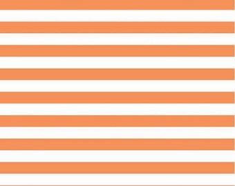 Riley Blake. Orange Stripes KNIT  - See description for full pricing
