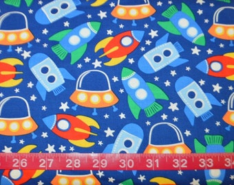 Michael Miller. Space Station Primary - BTY Cotton Fabric - Choose your cut