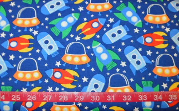 Michael miller space station primary bty cotton fabric for Space station fabric