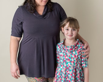 Mommy and Daughter Tunic Set
