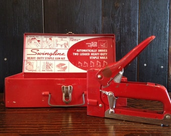 I Was Told There Would Be Stapler - Awesome Red Swingline Staple Gun