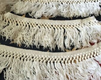 9 Yards Of Vintage Boho Fringe Trim Thats Enough To Get Your Gypsy On