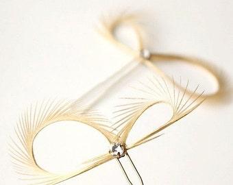 SALE Gold Hair Accessories - Rhinestone Hair Pins - Bridesmaids Gift Gold - Bridal Hair Pins - Wedding Hair Pins - Gold Headpiece - Silver P