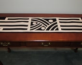 Art Deco Table Runner/Wall Hanging 9x44