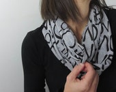 infinity scarf that states love. Valentine's Day gift. Fashion accessory. trending must have style