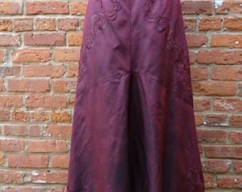 Long Skirt,Renaissance Skirt,Fairy Skirt,Nine Muses Of Crete
