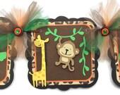 Jungle baby shower banner, safari baby shower banner,jungle banner, Safari banner, it's a boy banner, jungle decorations, photo prop