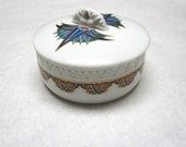 Treasures Of The Pharohs Eizabeth Arden Dusting Powder Talcum Holder Trinket Box