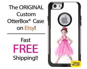 iPhone OtterBox Commuter Case for iPhone 7, 7 Plus, 6/6s, 6 Plus/6s Plus, 5/5s/SE, 5c Galaxy S7 S6 S5 Note 5 Custom Photo Image Photograph