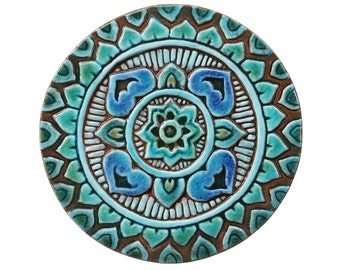 Mandala Wall Art With Spiritual Design Meditation Art