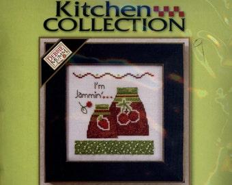 Mill Hill: I'm Jammin - a Kitchen Collection from Debbie Mumm Cross Stitch Kit