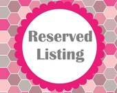 Reserved Listing for deannamichelle97