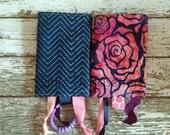 Batik Roses Drool Pads