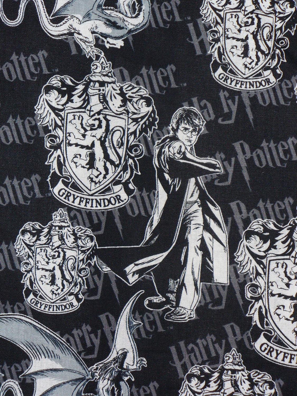 Aparador Sala De Jantar Rustico ~ Harry Potter Fabric , Harry Potter, Gryffindor Fabric, Hogwarts Emblem, Gryffindor Crest, By the