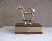 vintage horse trophy