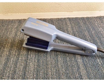 90s Conair Light Blue Hair Crimper Tested and Works