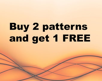 Free Crochet Pattern , Free Knitting pattern , Crochet pattern Free , Knitting Pattern Free pattern, Buy one get one free