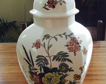 Vintage Spode Vase Urn with Lid Mint Condition
