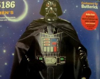 DARTH VADER Pattern • Butterick 5186 • Mens Xs-Xl • Darth Vader Costume • Costume • Cosplay • Halloween • Costume Patterns • WhiletheCatNaps