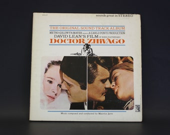Vintage Album Soundtrack 'Dr. Zhivago'  (E1632)